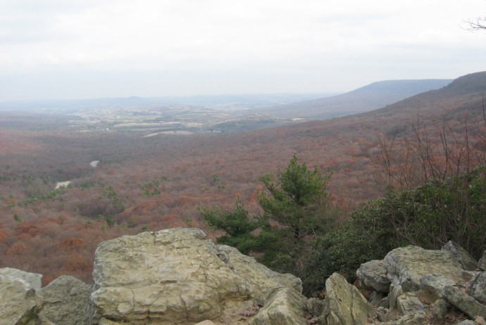 View from Hawk Mountain, Hamburg, PA