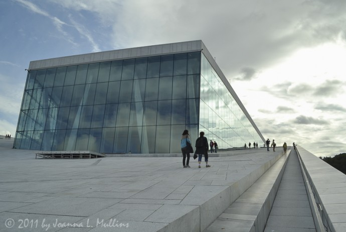 Oslo Opera House Slope