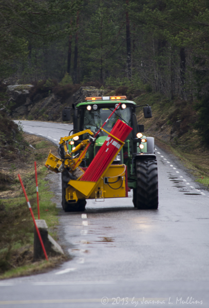 Brøytestikker Truck at Work