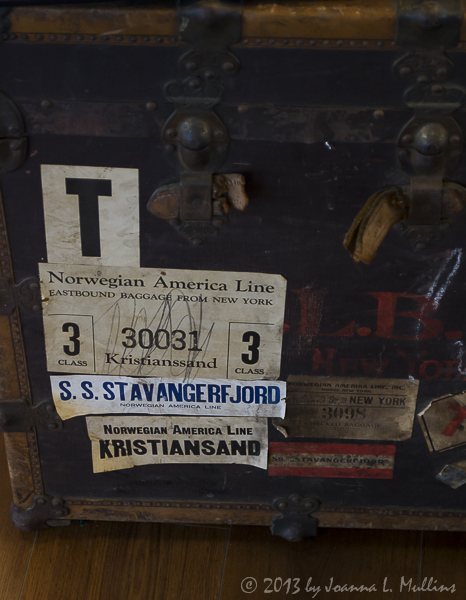 Norwegian Immigrant Trunk